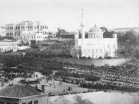 MilitÑrparade zu Ehren des Besuchs von Kaiser Wilhelm II. in Konstantinopel